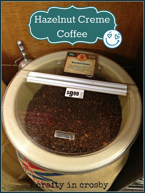 Coffee, Hazelnut Creme