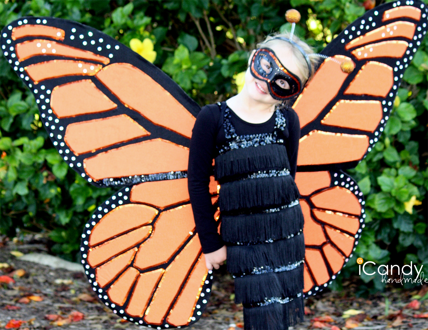 Sewing a butterfly costume for a girl with your own hands: a chic outfit at no extra cost 67