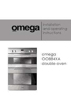 installation and operating instructions omega OO884XA double oven