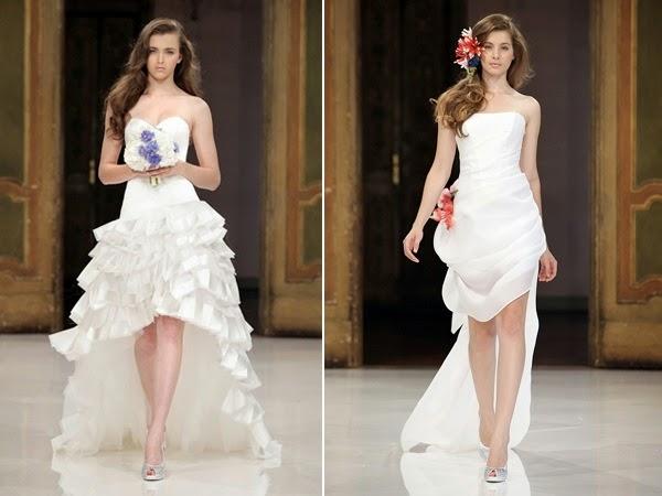 vestidos novia cortos por delante – vestidos de mujer