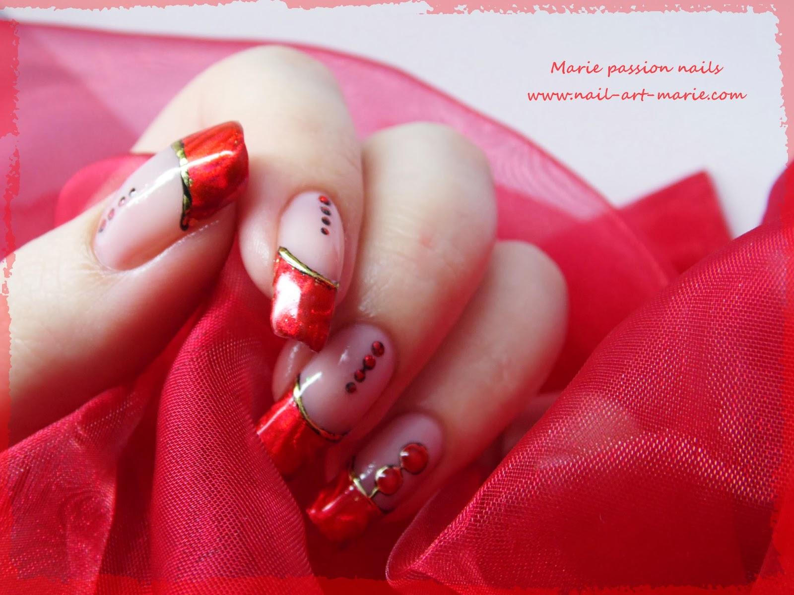 Nail art Saint Valentin3