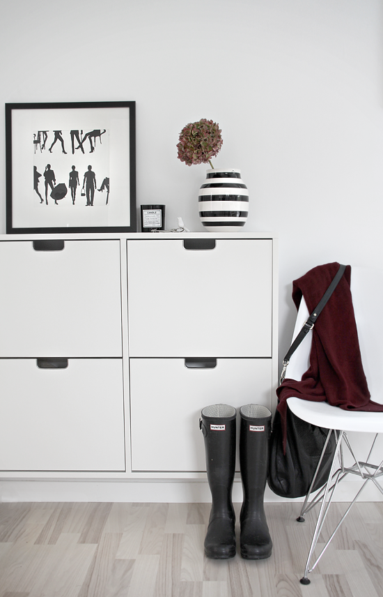 Ikea Shoe Rack Bench White