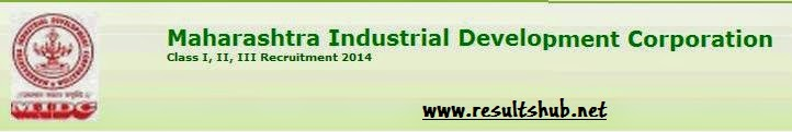 MIDC Recruitment 2014