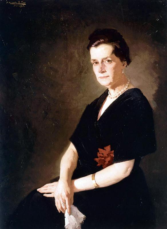 Retrato de mi madre, Félix Revello de Toro, Retratos de Revello de Toro, Pintor español
