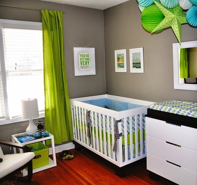 wall color for baby room