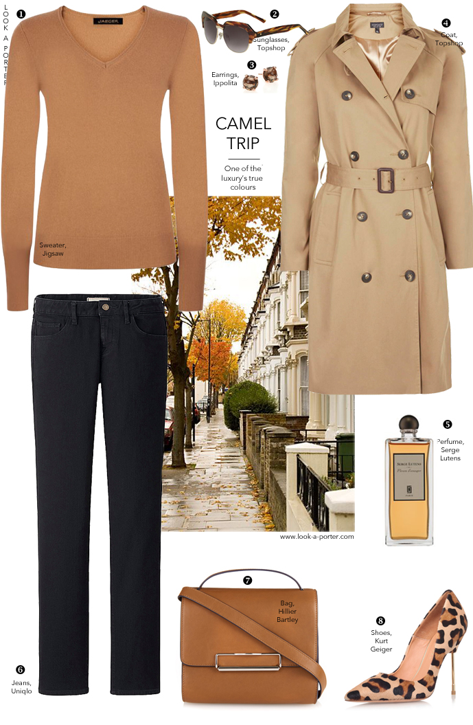 Another styling idea with a trench coat via look-a-porter.com, style & fashion blog / daily outfit ideas & inspiration / how to style / style tips