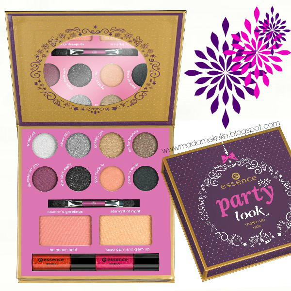 essence Party Look Makeup Box LE Preview