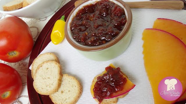 compota de tomate com pimenta da rita lobo