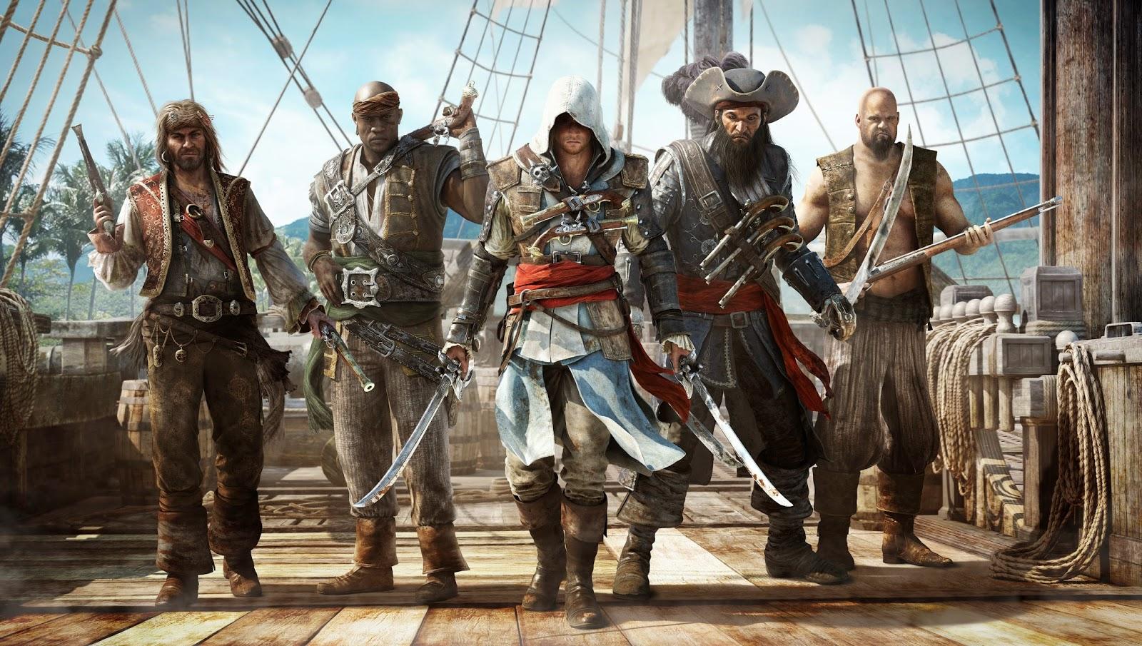 Assassins Creed IV Black Flag PC game Download