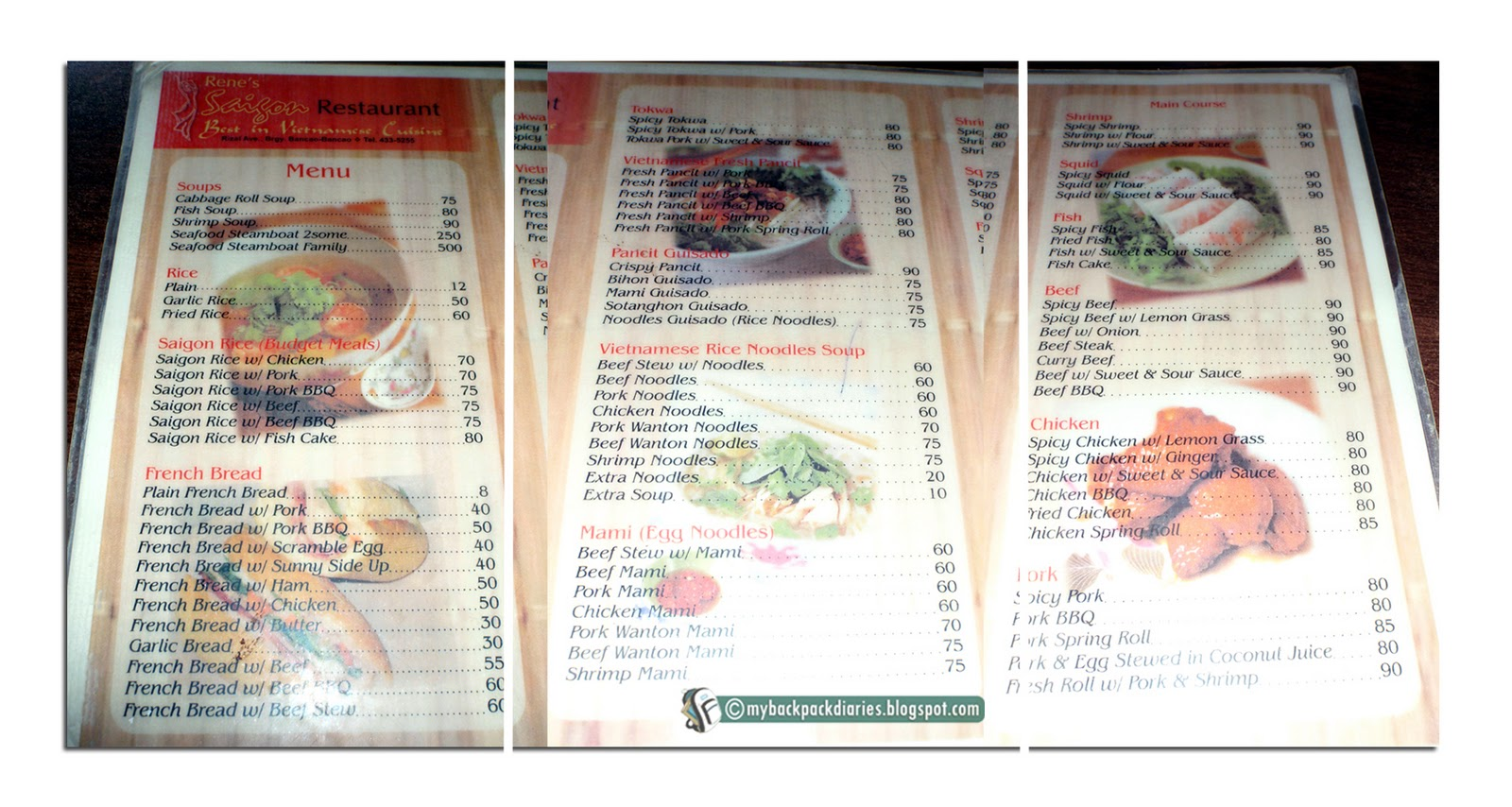 My Backpack Diaries: Rene\'s Saigon: Vietnamese Kitchen Brought Right ...