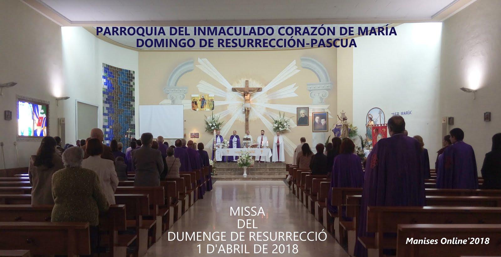 01.04.18 SEMANA SANTA MANISERA 2018: ENCUENTRO, L'ENCONTRE GLORIÓS