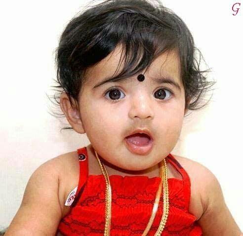 Bayi cantik dari india