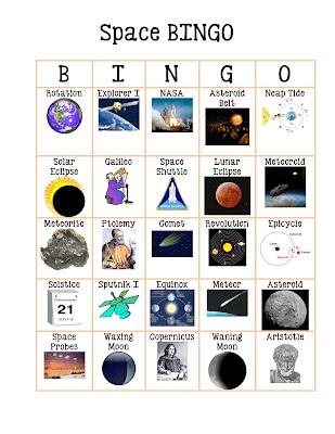 astronomy bingo - photo #11
