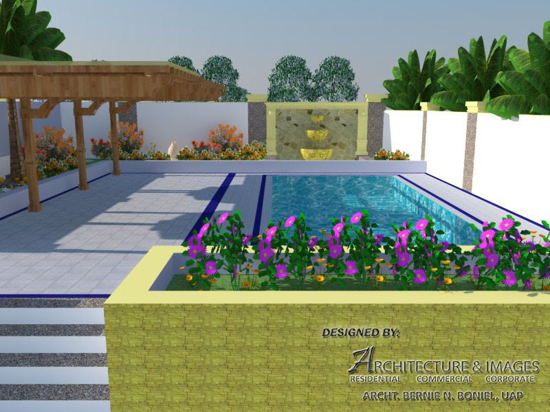 Architecture and images the swimming pool garden design for Barcelona pool garden 4