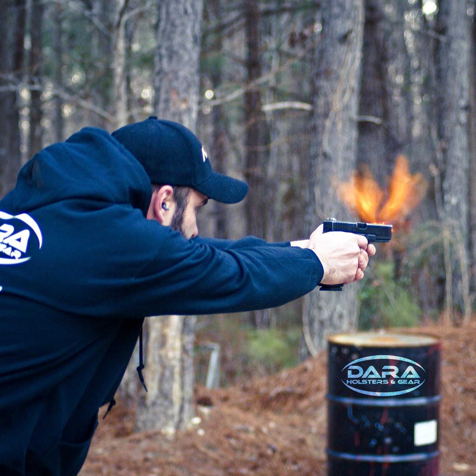 Glock 17 Fireball - Dara Custom Holsters