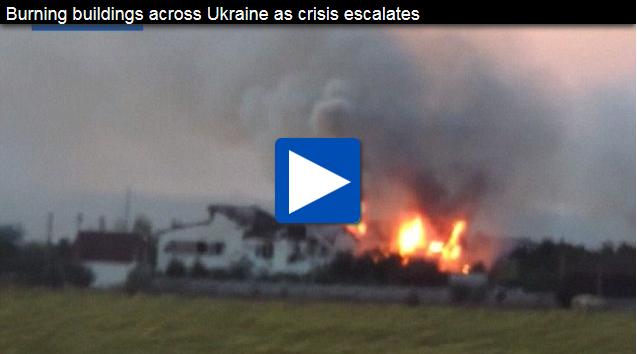 Giliran pesawat Ukraine ditembak jatuh