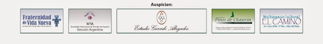 "Las siguientes Instituciones auspician ""Curso"" y ""Studium"" 2015 del Centro Pieper"