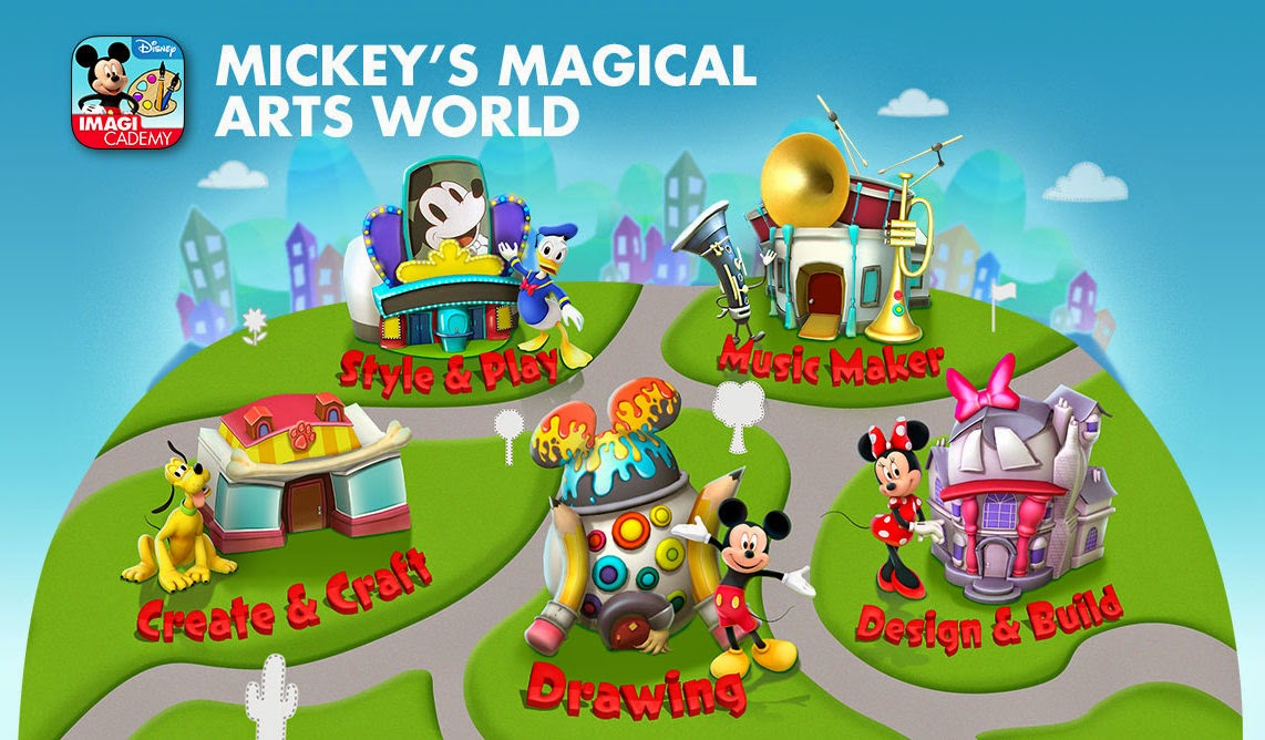 Mickey's Magical Arts World app