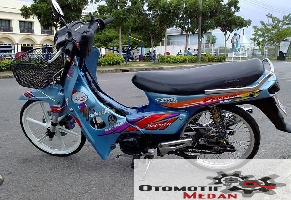 Modifikasi Honda Grand Thai look Style title=