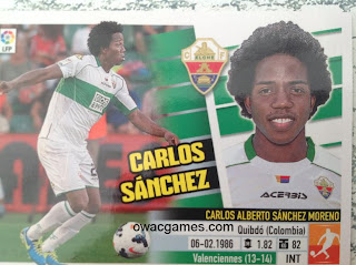 Último Fichaje 52 Carlos Sánchez