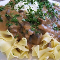 Beyond Imagination: Pasta - Portobello Mushroom Stroganoff