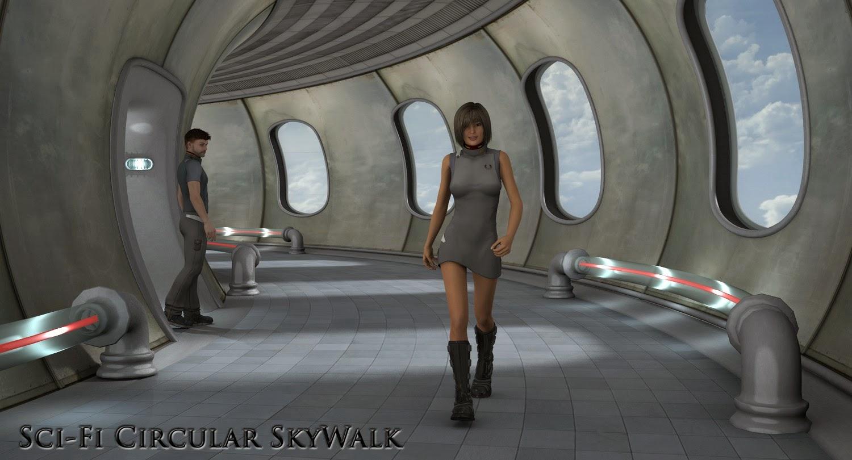 Sci-Fi circulaire SkyWalk