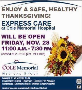 11-28 Express Care Will Be Open