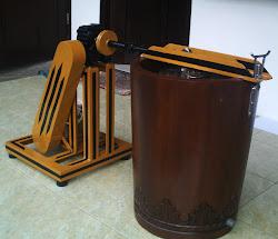 Mesin es krim Gustaaf masih mempertahankan konsep kerja mesin es krim tradisional Eropa