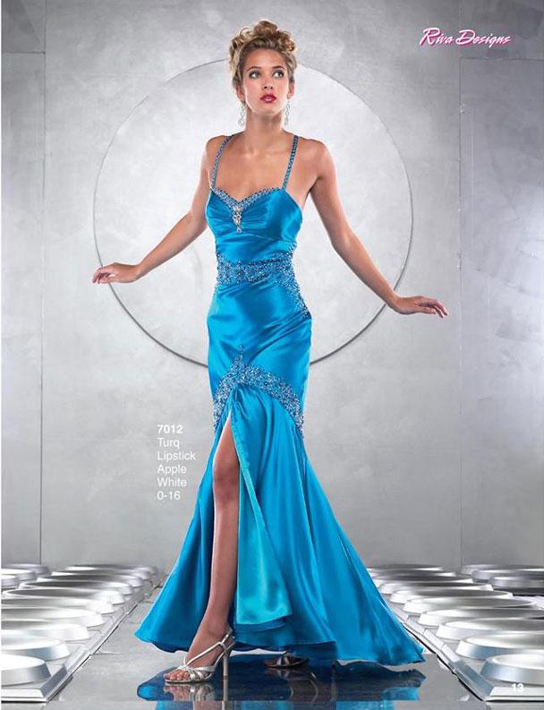 Vestidos azules para fiestas de 15 años