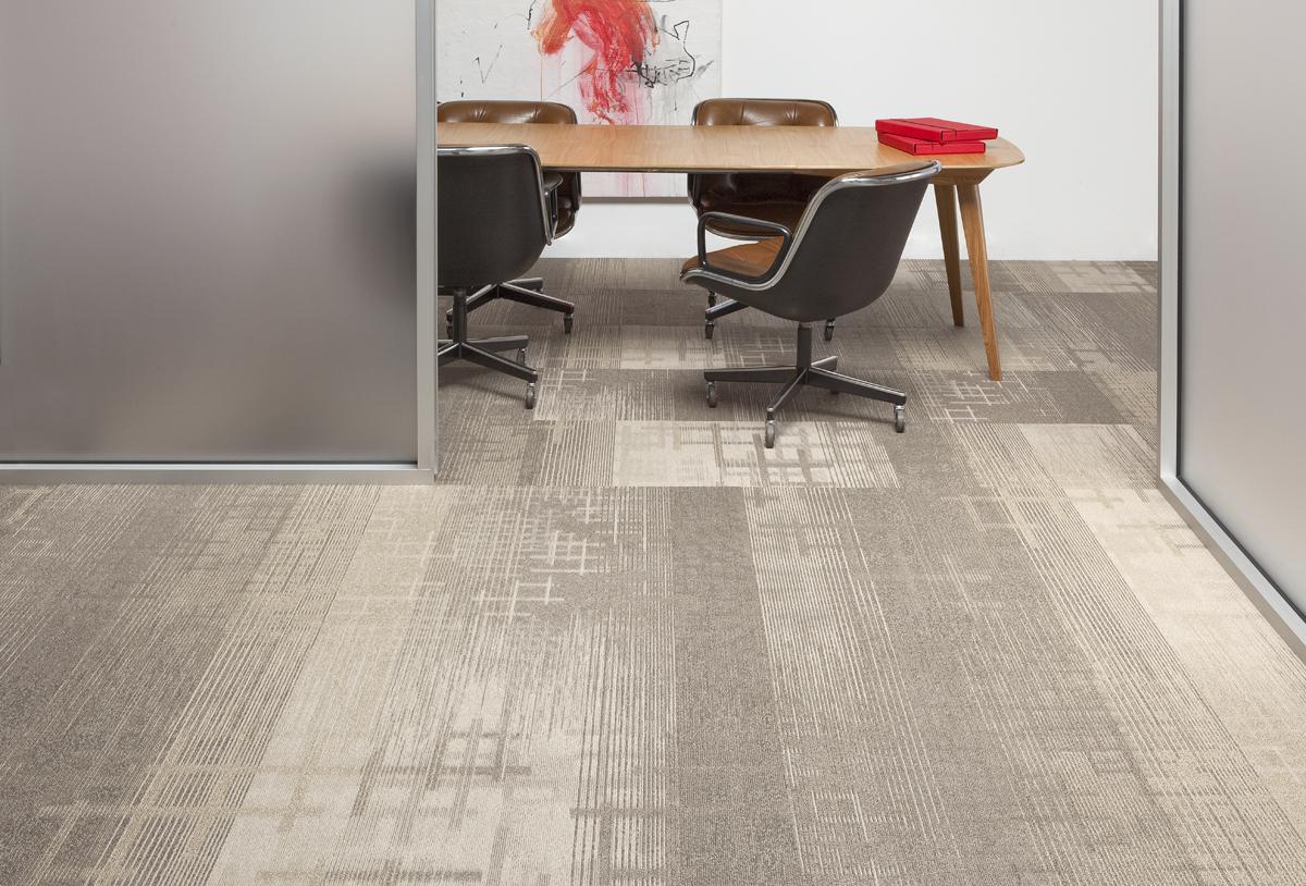 designed & delivered: tandus flooring transforms flooring design