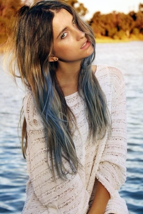 Dip Dye Hairstyle