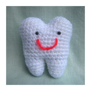 Kawaii Amigurumi Crochet Pattern-Time to clean tooth Sea ...