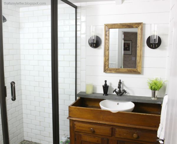 Old Tile Makeover   That s my letter bathroom makeover. Old Tile Makeover  Bathroom makeover how to add decorative molding