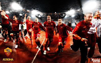 Skuad AS Roma - Wallpaper Sepakbola Terbaru 2012-2013
