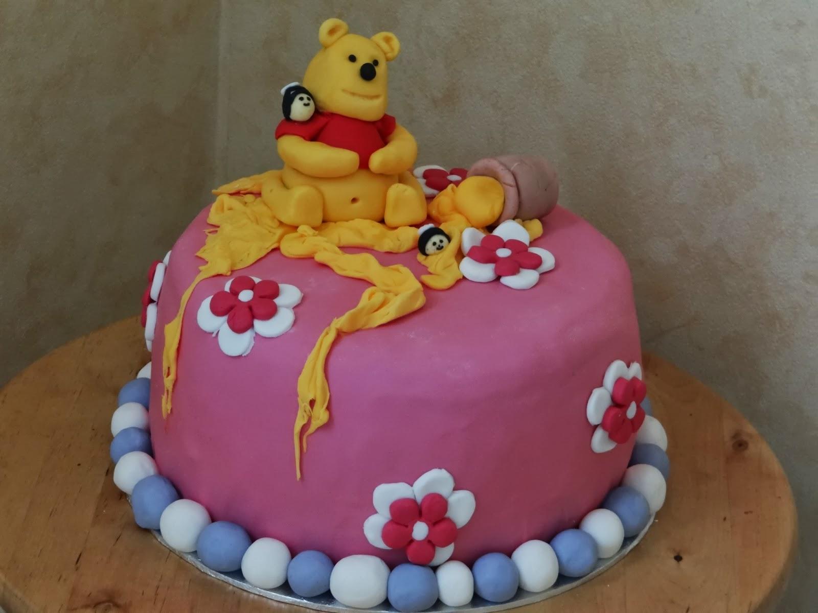 Michis Tortis: Winnie Puuh Torte (Kindergeburtstag)