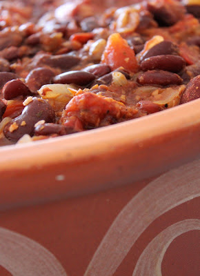 Coconut and kidney Bean Chilli