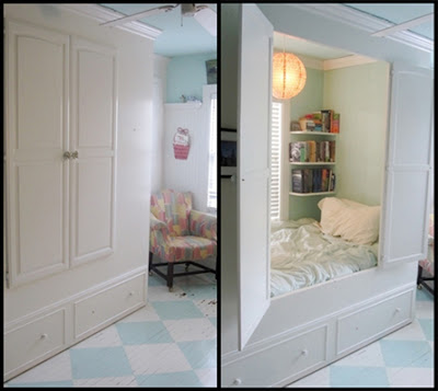 Sweet Bed Nooks For Your Efficiency Apartment