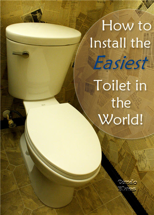 condo blues how to install a toilet. Black Bedroom Furniture Sets. Home Design Ideas