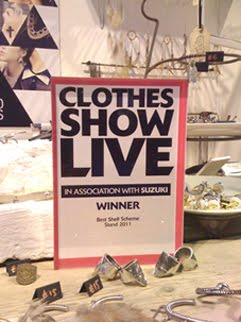 WINNERS OF BEST STAND@ CLOTHES SHOW LIVE