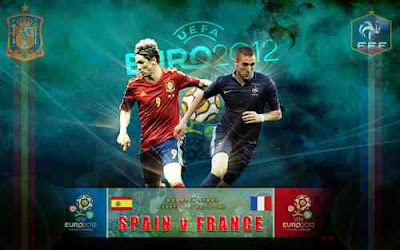 Hasil Euro 2012 - Video Spanyol vs Prancis