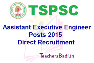 TSPSC, AEE Posts, Recruitment
