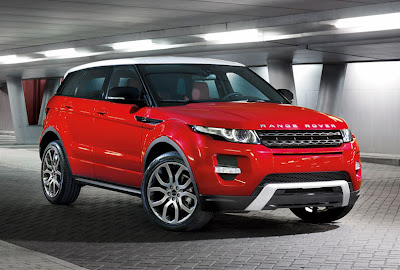 land rover evoque  - news cars
