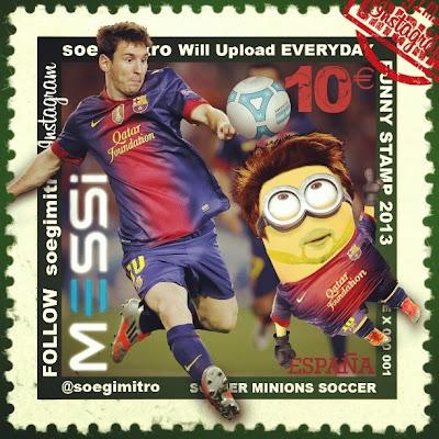 Minion de Lionel Messi Barcelona