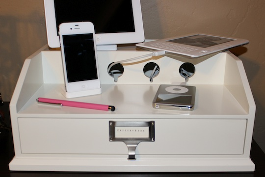 Get Organized While Charging Your Tech Gallery