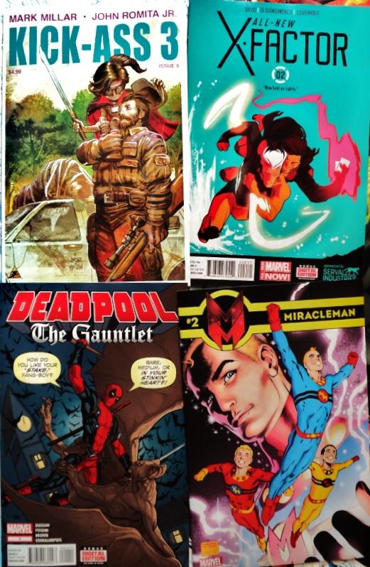February Comic Books / Cómics de febrero