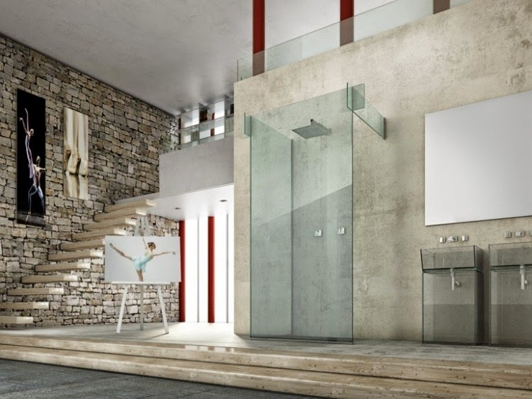 29 modern glass shower enclosures and walk-in glass shower ...