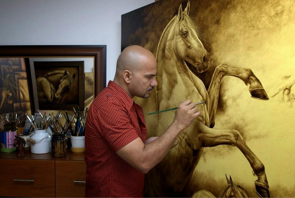 Artistas colombianos raul fernando musalan guzman for Pintor y muralista colombiano