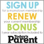 Today's Parent Bonus Subscription Offer!