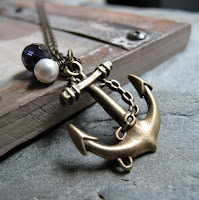 Navy Anchor Charm3