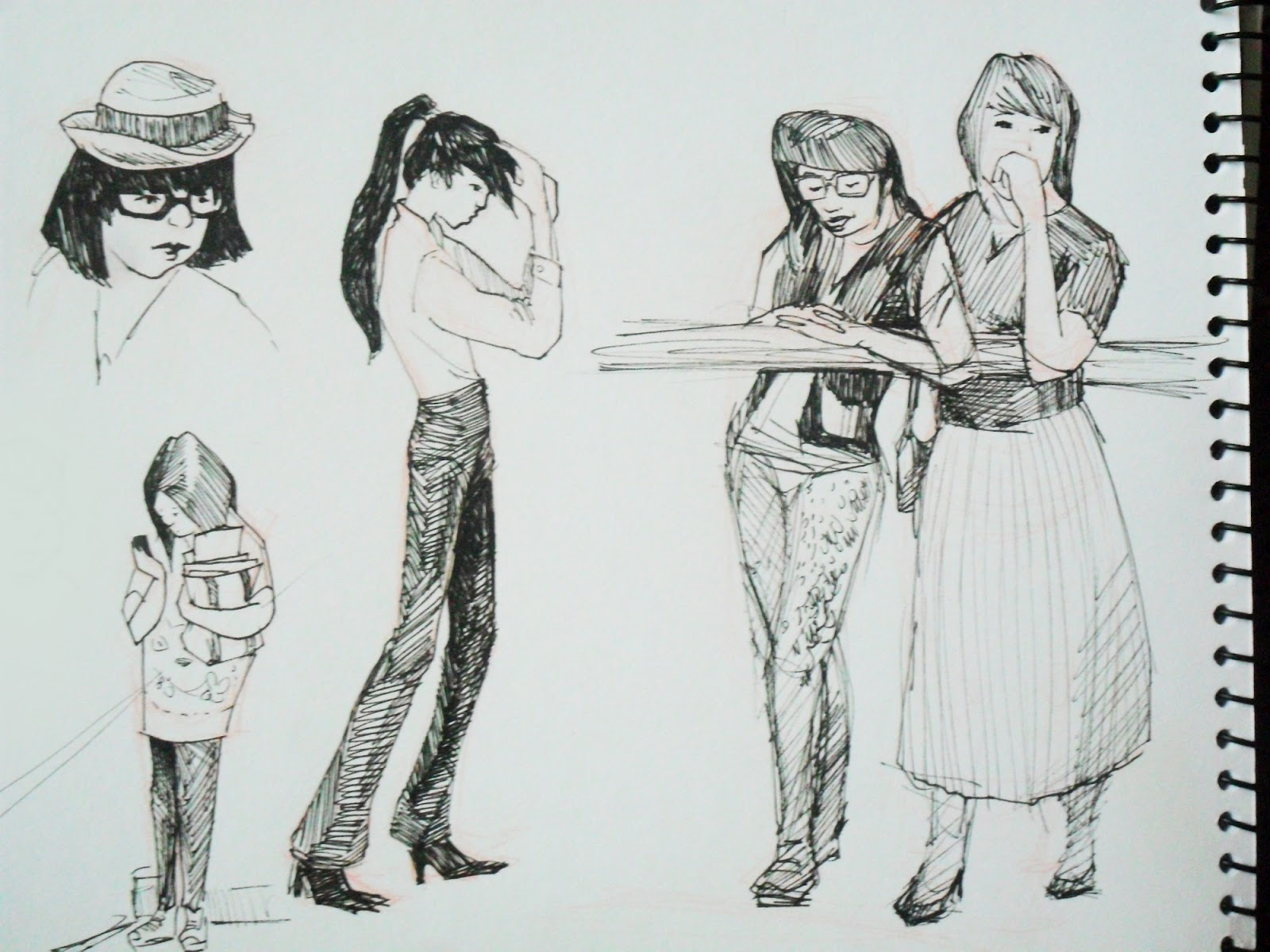 illustrations in the rough: August 2012 #6E645D